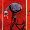Trois études de figures au pied d'une Crucifixion (1944)