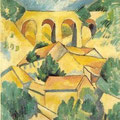 Le viaduc de l'Estac, Georges Braque, 1908