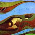 Le jardin de la France, Max Ernst, 1962