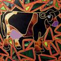 Las Cow  -19/11/07-  30x40cm