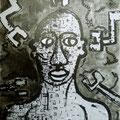 Metal Man  -22/05/09- 38x46cm