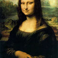 "Mona Lisa ""ou"" La Joconde, Léonard de Vinci, (1505)"