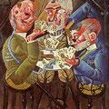 Invalides de guerre, Otto Dix, 1920