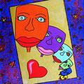 L'amour qui s' estompe -2006-  20x30cm
