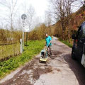 Wünschendorf: Der Weg zum Märchenwald (an der Elster) wurde aufgehübscht