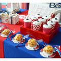 Galletas y cupcakes.