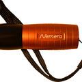 ZIMA- Lasergravur auf Taschenlampe.