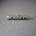 VW Scirocco Geneve 2008 Pin 925 Sterling Silver dunkel Vorderseite