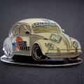 Käfer-Cup Pin weiß