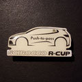 VW Scirocco R-Cup Blinkie Ansteckpin - Push-to-pass