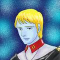 (AZpainter2で線画を描いてみた)デスラー総統