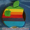 Apple Графские развалины с грецкими орехами. Отделка – мастика
