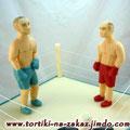 Боксеры Дамский каприз с масляным кремом со сгущенкой Мастика 4,5кг
