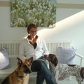 Wartezimmer Hunde