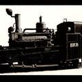 Die ganze Lokomotive wurde gelasert. (Eloxiertes Aluminium)