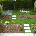 Proportion + Raumaufteilung I Reihenhausgarten I Troisdorf