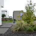 """Bauhaus""-Privatgarten I Neubau Einfamilienhaus I Mainz"