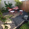 Umgestaltung Hausgarten + Mediterraner Sitzplatz I Sankt Augustin