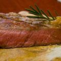 T-Bone Steak Niedrigtemperatur