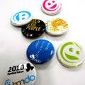 a badge(novelty) / Design: Takuya Saeki