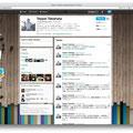 "Image for profile on Twitter(<a href=""https://twitter.com/#!/teppeitakahata"" target=""_blank"">@teppeitakahata</a>) / Direction,Design: Takuya Saeki"