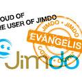 "Jimdo Japan Program logo: <a href=""http://jp.jimdo.com/"" target=""_blank"">Jimdo Evagelist</a> / Direction, Design, Takuya Saeki"