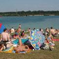 Bei dem Wetter ... waren wir überall unterwegs hier am Unterbacher See