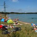 Am Rhein zum Picknick und Grillen