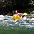 Kayakfahren in der Tarnschlucht