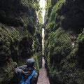 Höhlenwandern - Mit diplomierten Führern kann die faszinierende Höhlenwelt der Causses entdeckt werden
