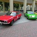 Fiat Dino Coupe & Porsche 911