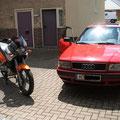 XF650 u. Audi80