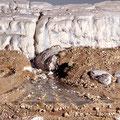 Gletschermodell, Eiszeit