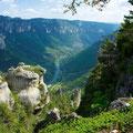 Les gorges du Tarn dans le sud Aveyron partagées avec La Lozère