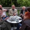 Café Moritz-Terrasse im Obergschoss