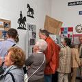 Blick in die Ausstellungsräume
