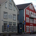 Häuser in der ältesten Straße Reykjaviks