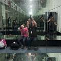 Spiegelkabinett im Museum Nationalpark Jasmund