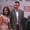 Vitali Klitscko mit seiner Frau Natalia Klitscho