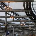Steeler Bürgerleuchten am Verkehrsplatz in Essen-Steele, November 2013