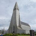 Hallgrimskirkja - die größte Kirche Islands