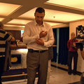 Vitali Klitschko, Vorbereitung zum Handabdruck