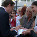 """Matthias Brandt, Sohn von Willy Brandt, Weltpremiere """"Das Blaue vom Himmel"""" am 30.5.2011"""