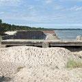 Prora, Reste der Strandpromenade
