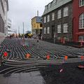 Beheizbare Bürgersteige in Reykjavik