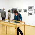 Raum mit Fotos von Lothar Baumgarten