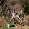 2月7日、サクラ広場環境整備チーム