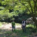 8月3日、イノシシ被害対策プロジェクト+大沢谷広場プロジェクト