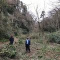 1月11日、イノシシ被害対策プロジェクト+大沢谷広場プロジェクト