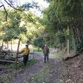 10月31日、イノシシ被害対策プロジェクト+大沢谷広場プロジェクト